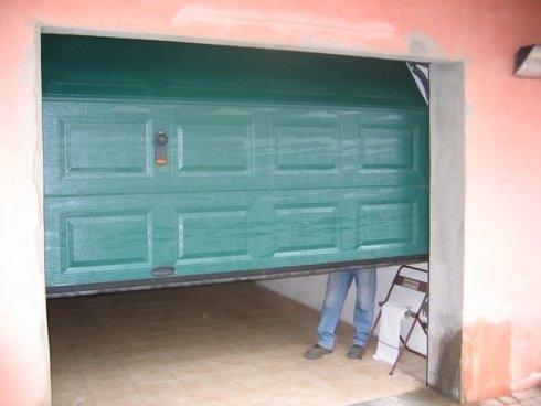 sezionale cassettato verde aperto