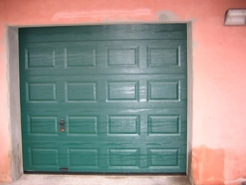 sezionale cassettato verde chiuso