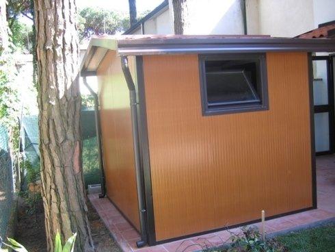 box pannelli coibentati colore finto legno