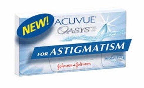 Lenti a contatto per astigmatismo: Nuovo Acuvue Oasys