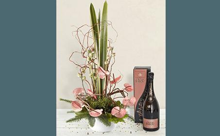 vino e fiori