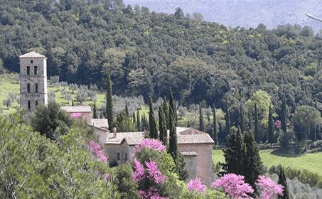 location Abbazia san pietro in valle