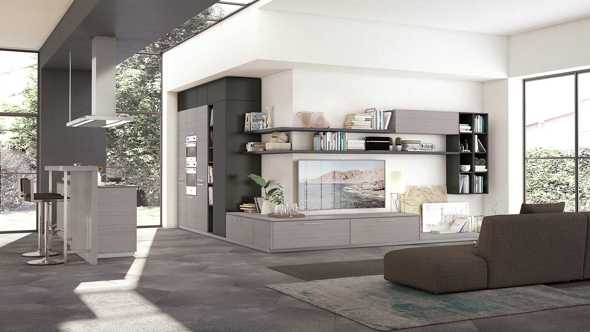 Cucine componibili e living | Napoli | Lube e Creo Store