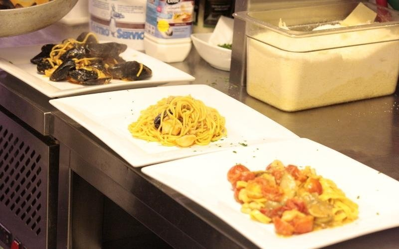 tre primi piatti di pesce