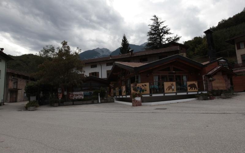 ristorante di montagna trentino