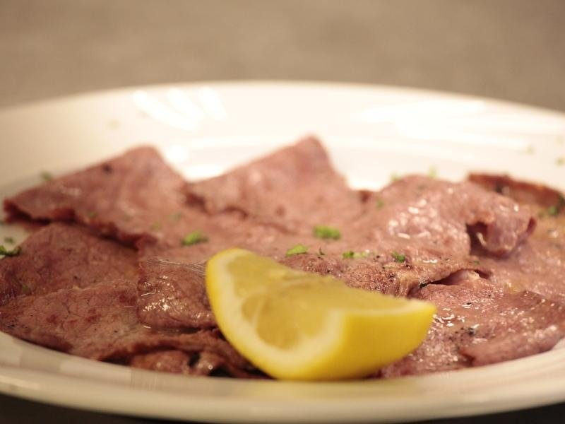 piatto di  roastbeef