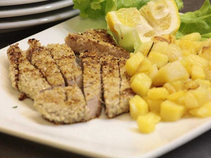 fettine di carne con patate