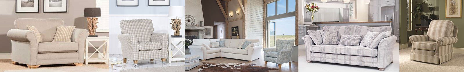 Living room furniture collage