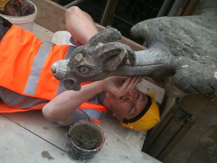 Sculpture of an animal