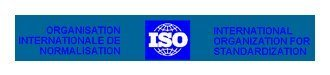 International Standards Organisation logo