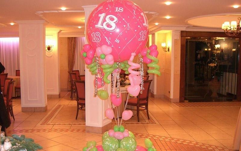 Evidenziato a palloncino decorato 18