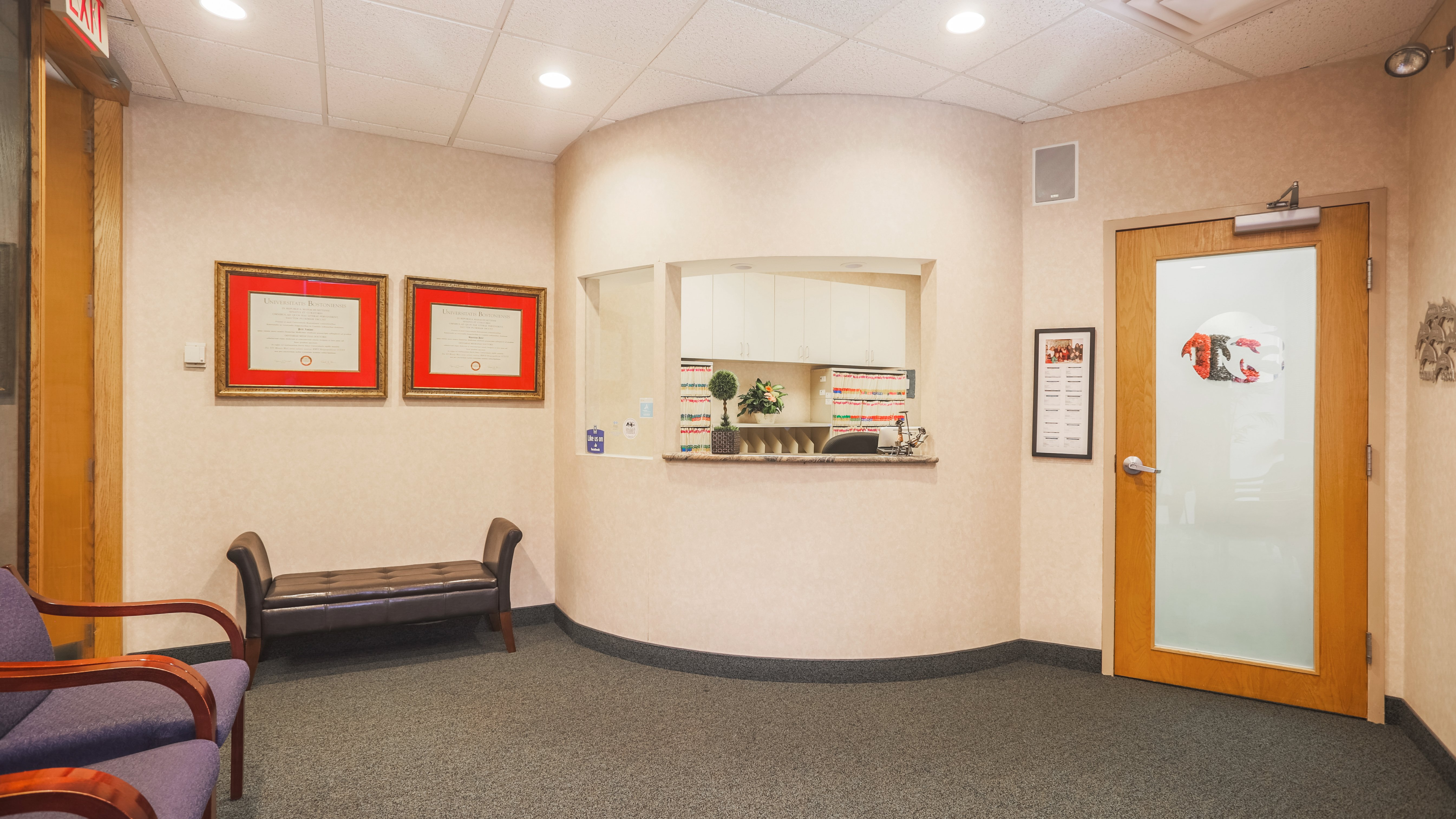 Boston North Dental Waiting Area Saugus, MA