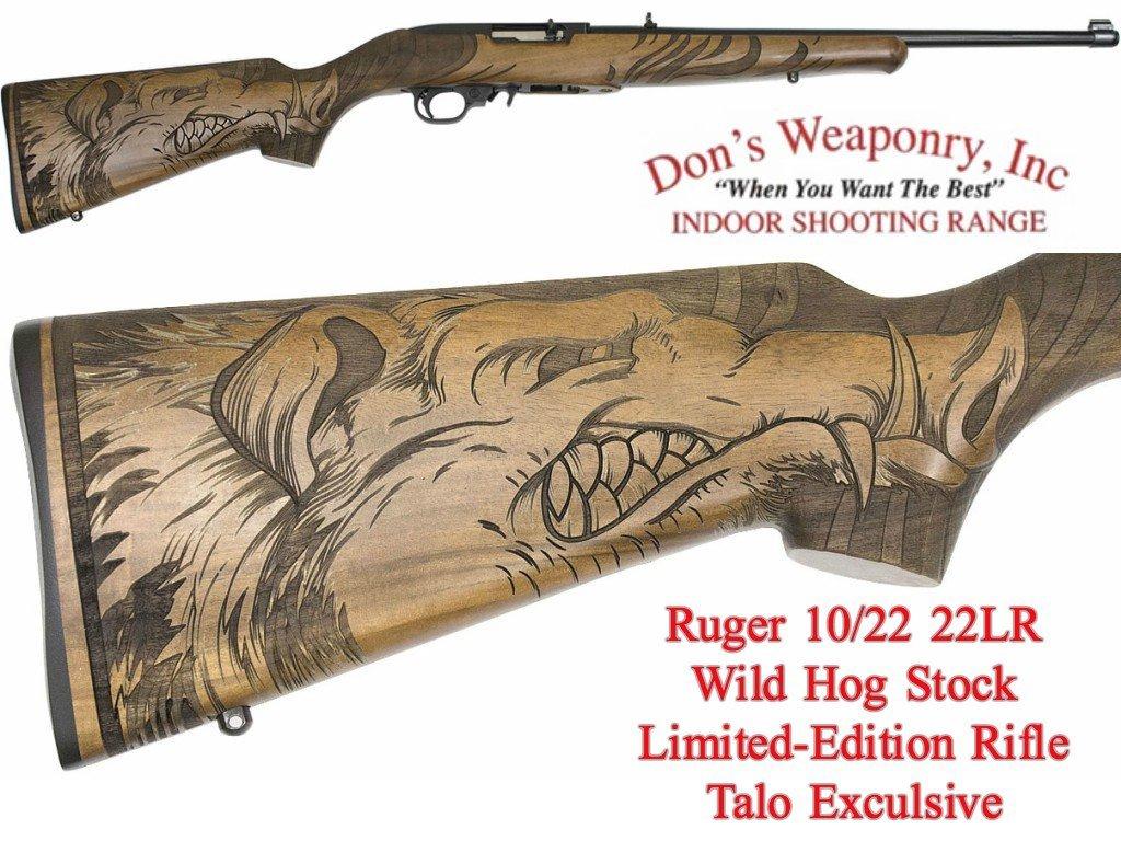 Ruger Wild Hog Rifle