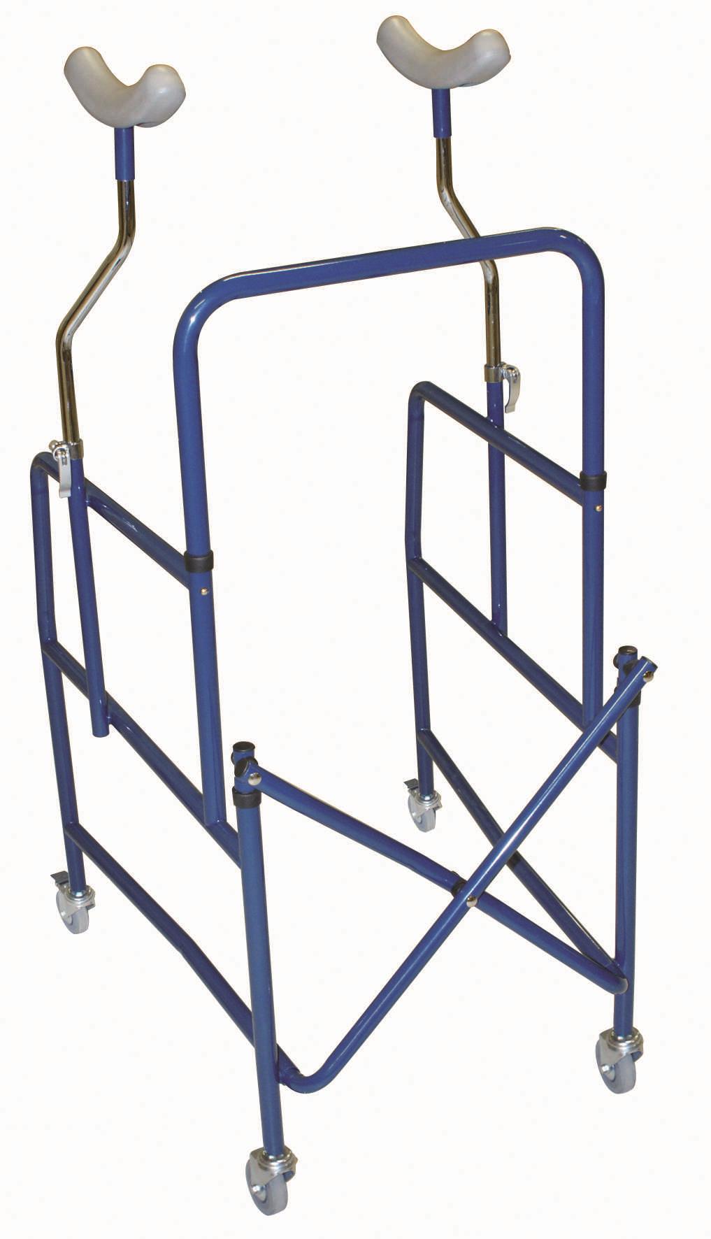Deambulatori sottoascellari realizzati per sostenere persone con difficoltà di movimento