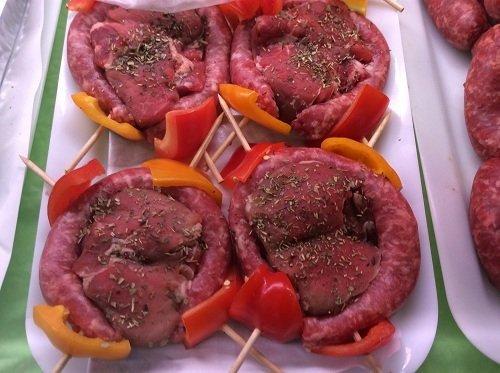 Carne pronta per essere cotta