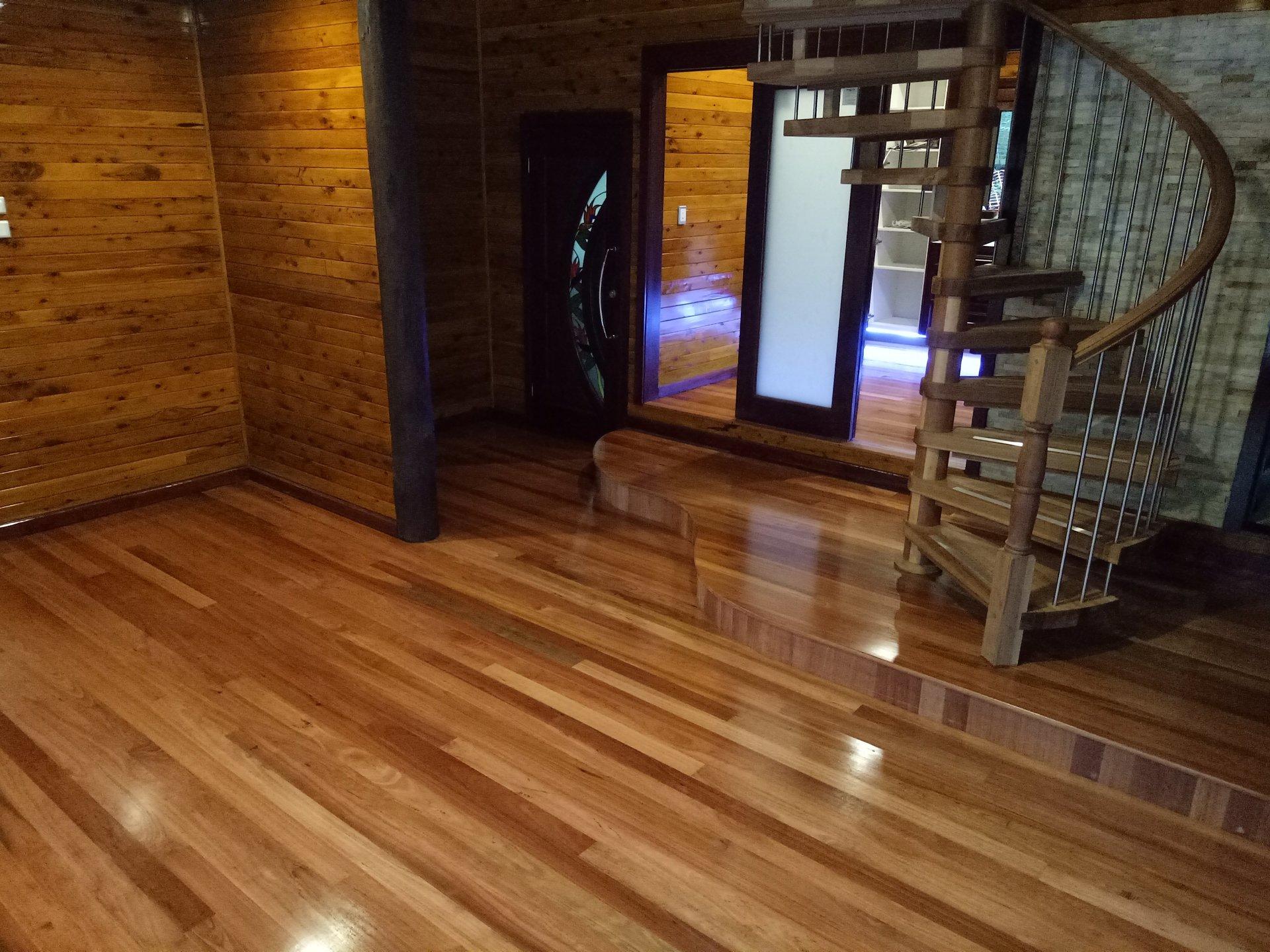Residential timber flooring