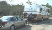 Rv Motorcycle Carrier on Beaver Monterey