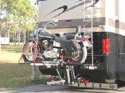 Cruiserlift Motorcycle Rv Loader on Monaco Dynasty