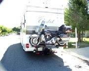 Motorcycle Carrier on National Tradewinds