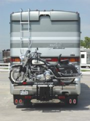 Cruiserlift Rv Motorcycle Lift on American Eagle RV