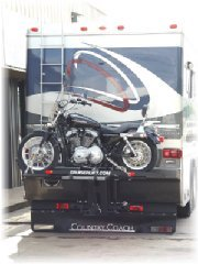 Rv Motorcycle Lift on Country Coach