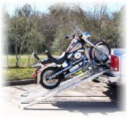 Cruiser Ramp Motorcycle Pickup Loader In 6'-6