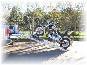 Electric Motorcycle Pickup Loader