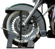 Locking Motorcycle Wheel Chock