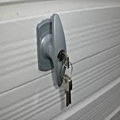 Garage door lock 1