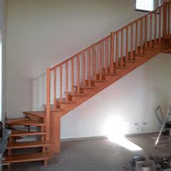 costruzione di scale in legno