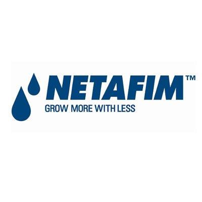 NETAFIM GROW MORE WITHLESS - LOGO