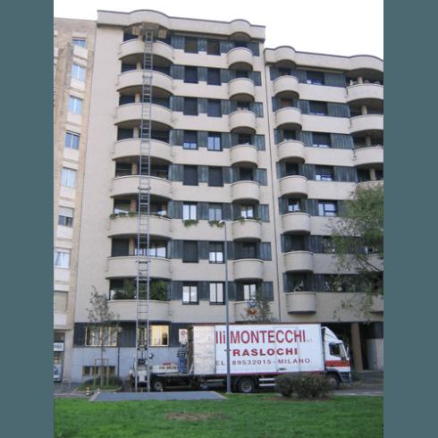 Trasloco appartamenti ai piani alti