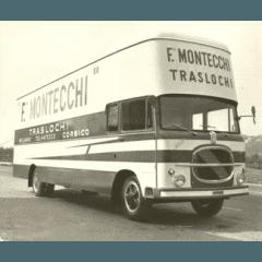 Camion storico per traslochi