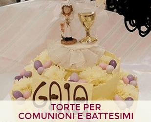 Torte per comunioni e battesimi