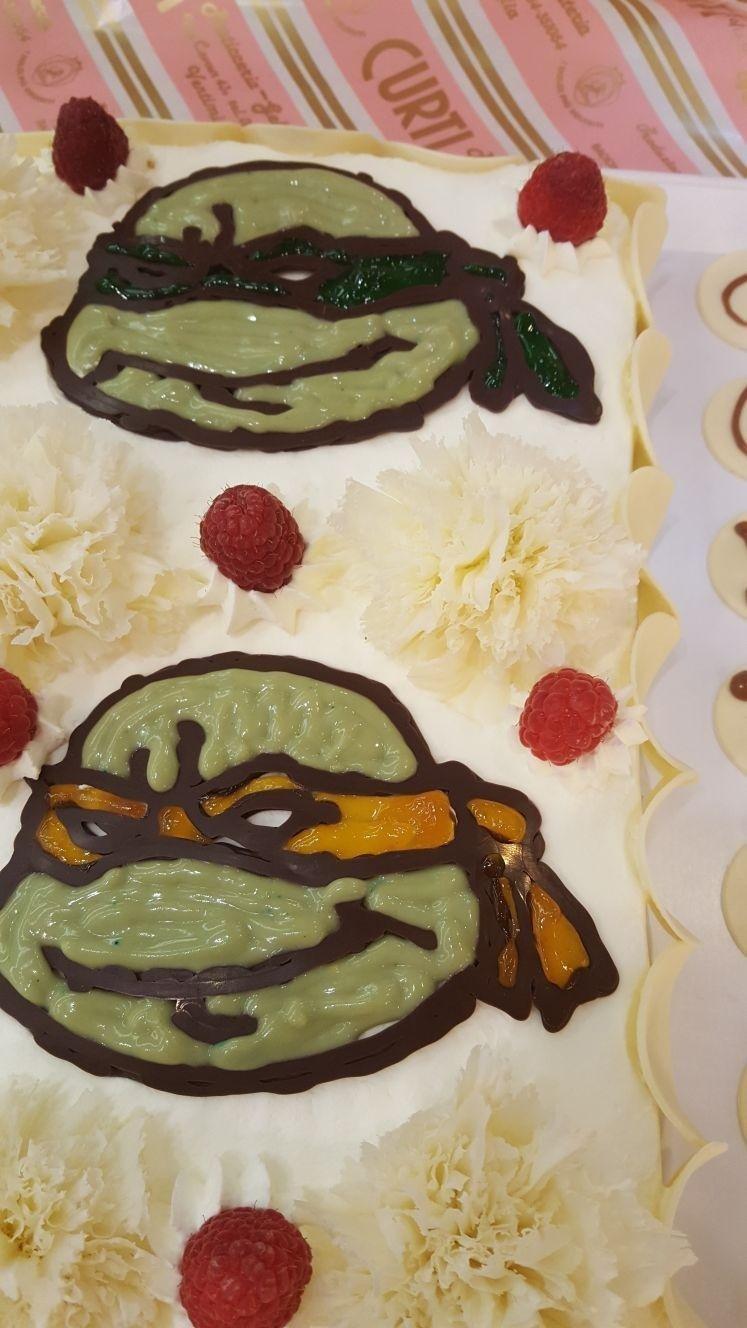 Torta compleanno tartarughe ninja