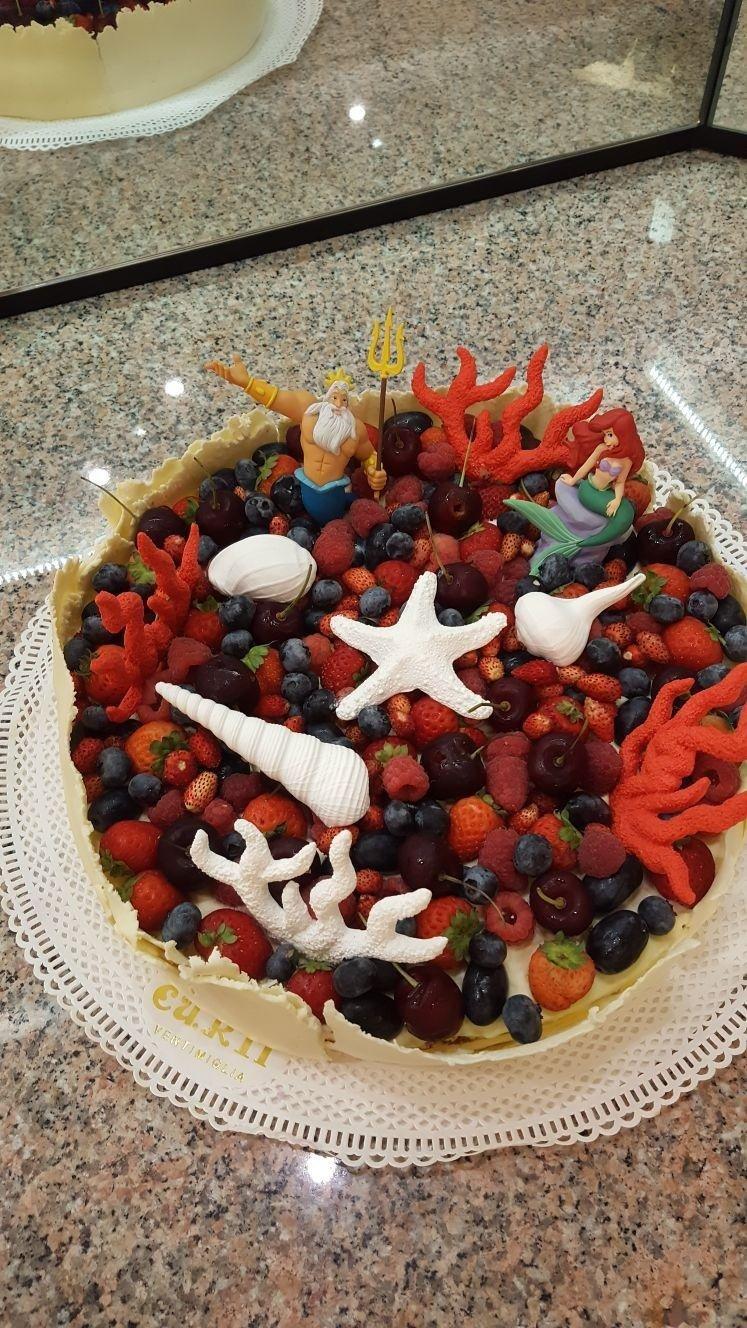 torte di compleanno more e lamponi