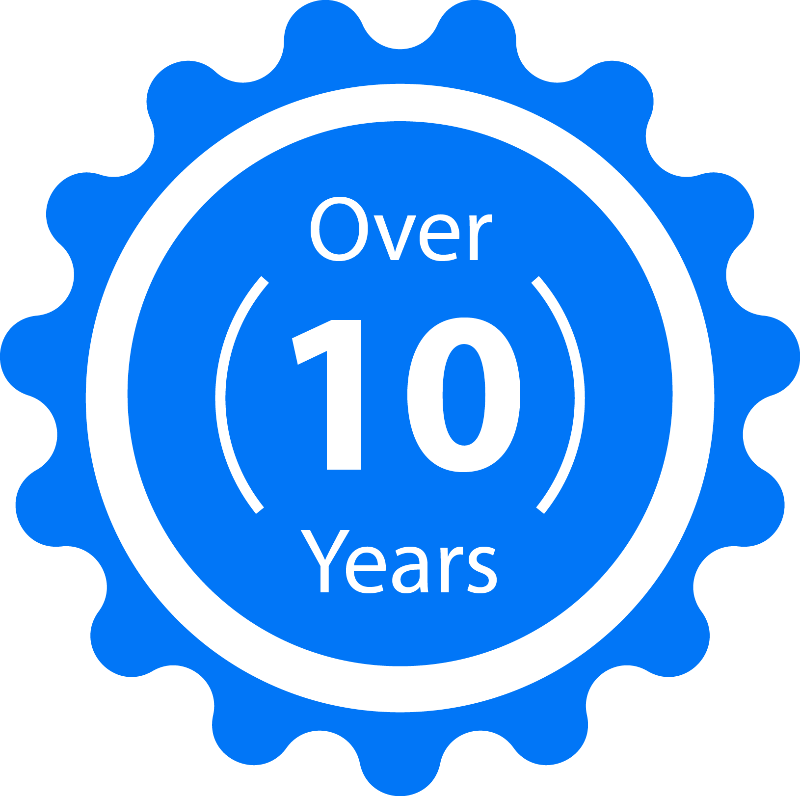 icon for 10 years servicing