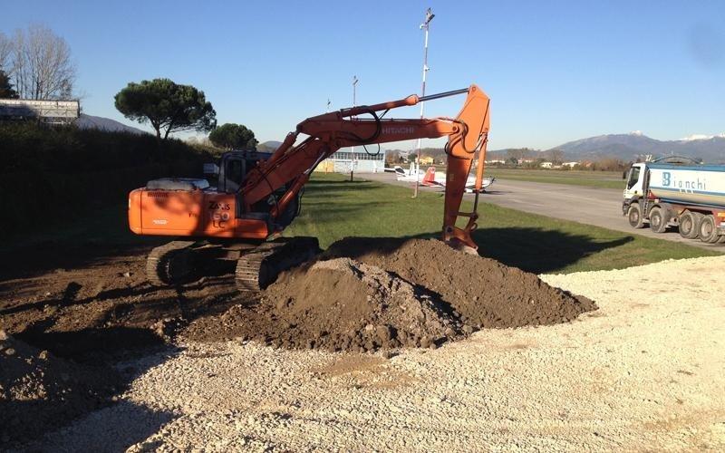 escavazioni e movimento terra