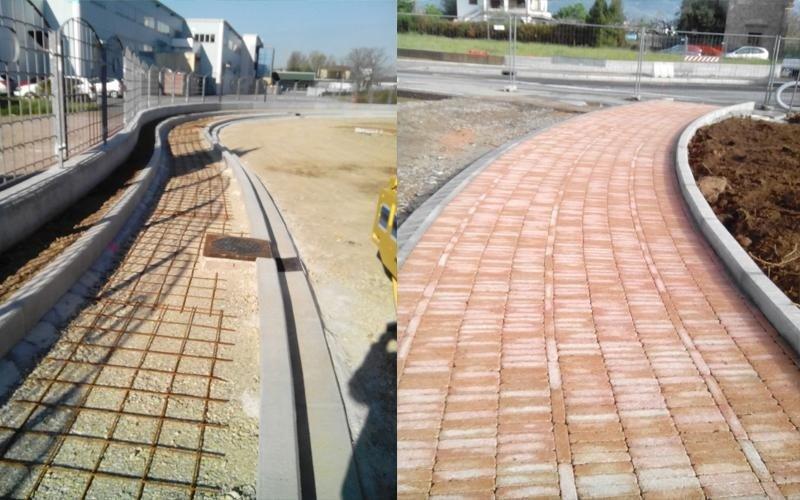 costruzione strade Altopascio