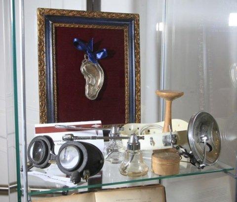 Antichi ferri chirurgici - collezione del dr F. Baricalla