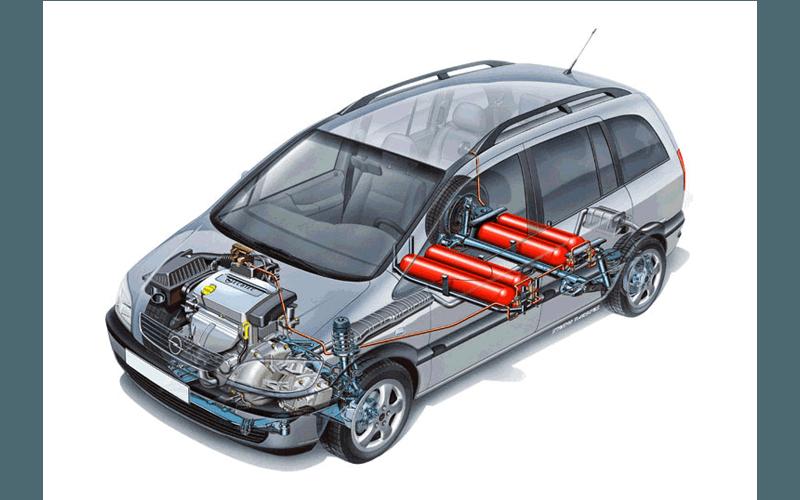 Automobile con impianto a metano