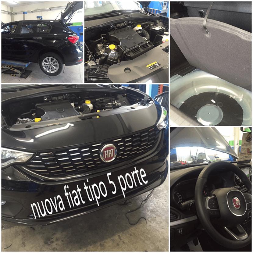 Installazione Impianti gpl Nuova Fiat Tipo 5 porte