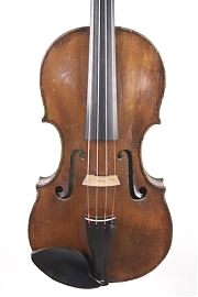 Charles samuel Thompson violin front