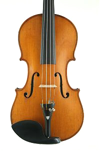 German violin front