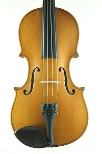 Saxon violin front