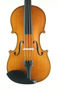German Strad pattern violin front