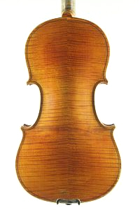 German Strad pattern violin back