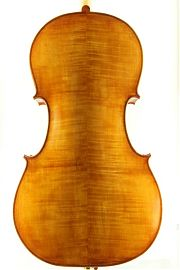 Edward Gaut 2000 cello back