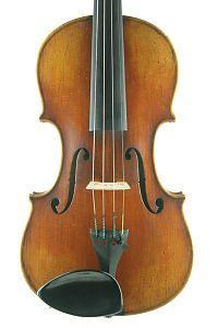 Copy Vuillaume violin front