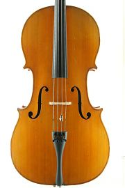 German trade cello front C.1900